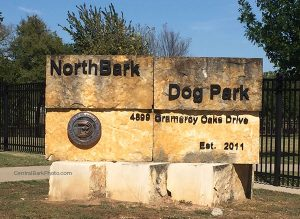 NorthBark Dog Park Entrance Sign Dallas Dog Park