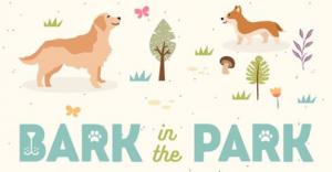 Bark in the Park Dog Event Logo