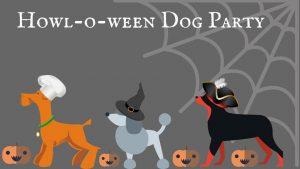 cartoon dogs in halloween hats